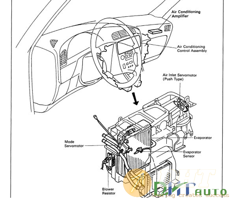 Wiring Diagram - Toyota Camry 1994 Electrical Service ...