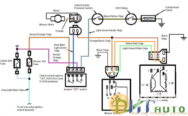 2000 Ford Mustang Stereo Wiring Diagram from dhtauto.com