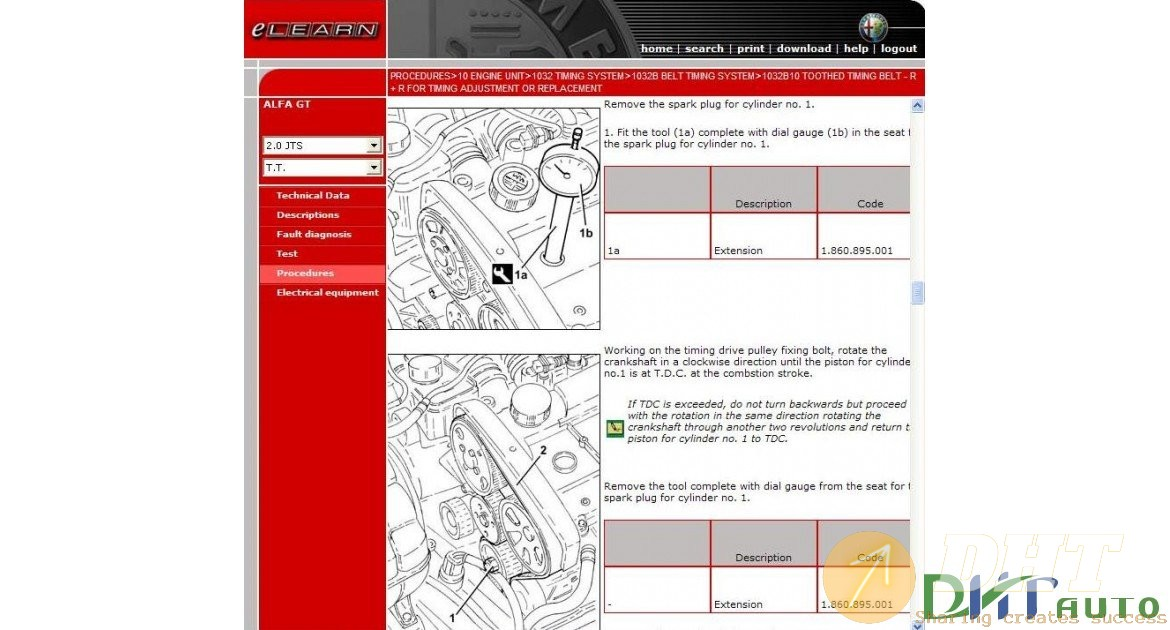 Alfa Romeo Gt Service  U0026 Repair Manual  2003