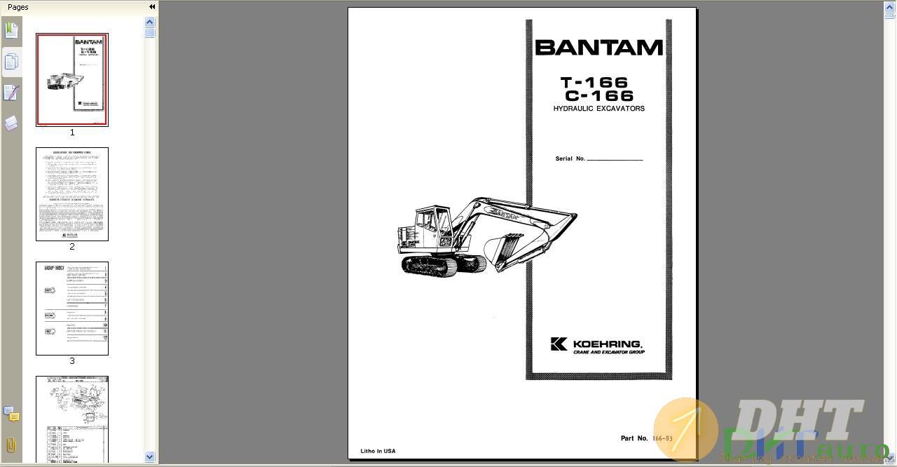 Bantam_T-166C-166_Hydraulic_Excavators_Parts_Manual_No166-830-1.jpg