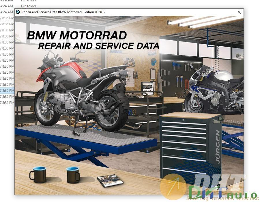 BMW Motorrad Repair and Service Data (RSD) Full [09.2017]