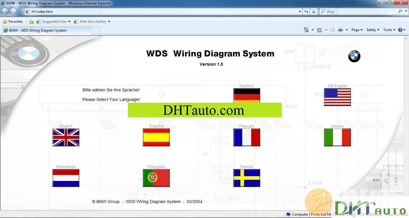 Bmw Wiring Diagram System Wds V1 Full  03 2004