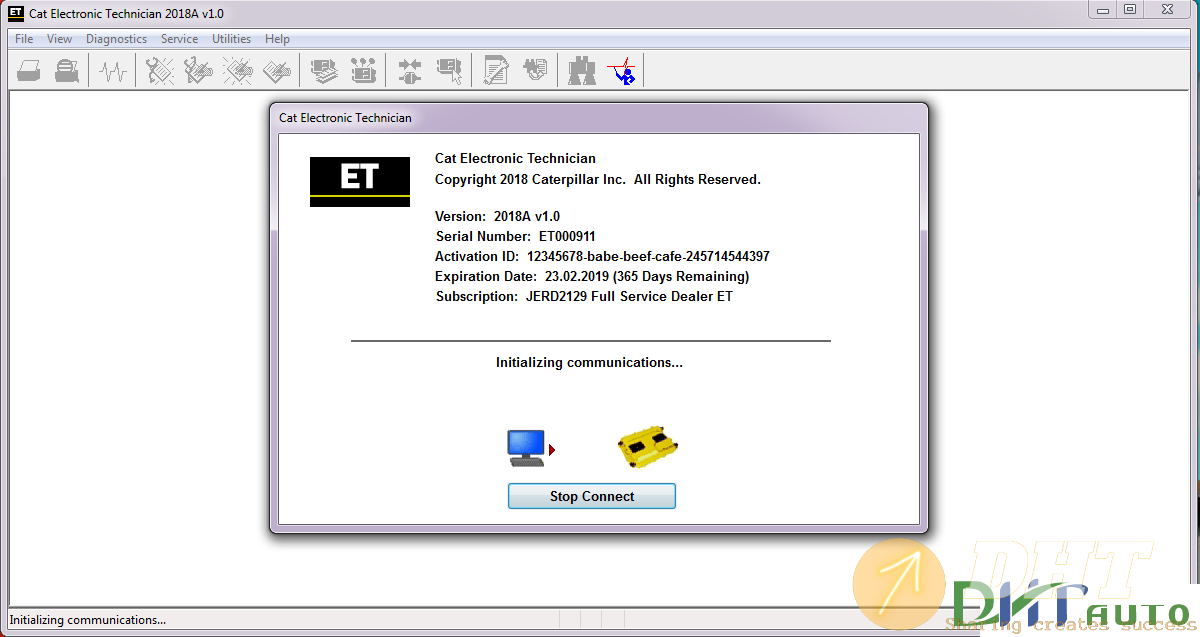 Caterpillar ET 2018A Diagnostic Software [01.2018]