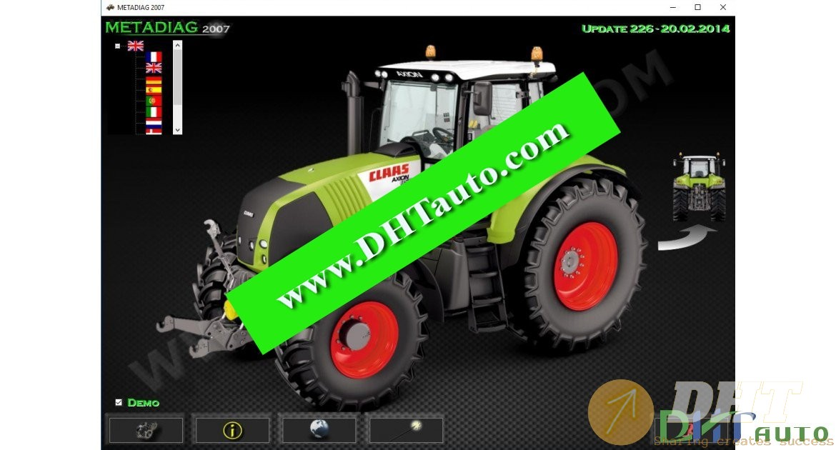 Claas Metadiag Diagnostic Tool [02.2014]