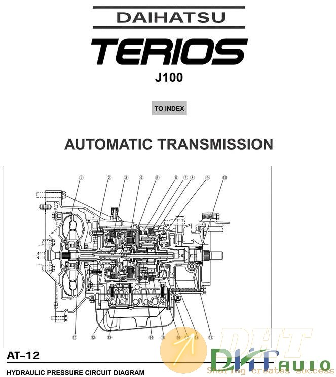 Daihatsu Transmission Diagram