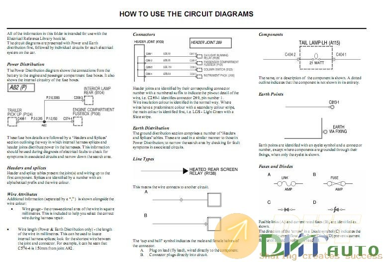 Wiring Diagram  - Defender 300 Tdi My97