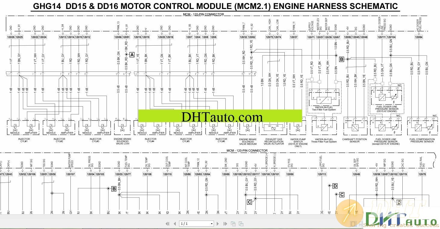 Wiring       Diagram      Detroit    Wiring    Diagrams Full