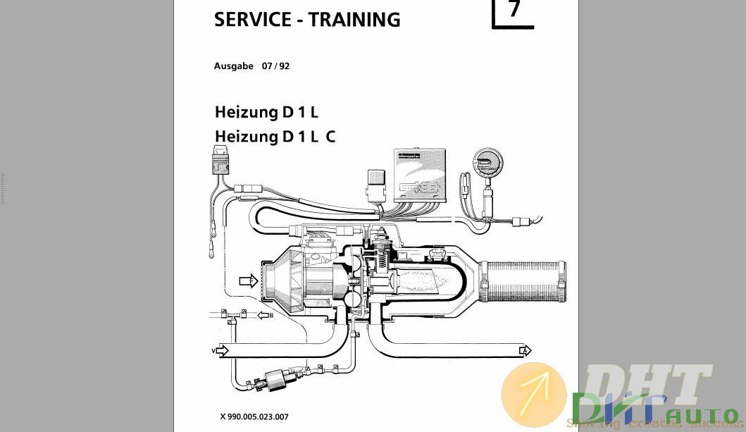 Service Manual - Fendt Heizung D 1 L