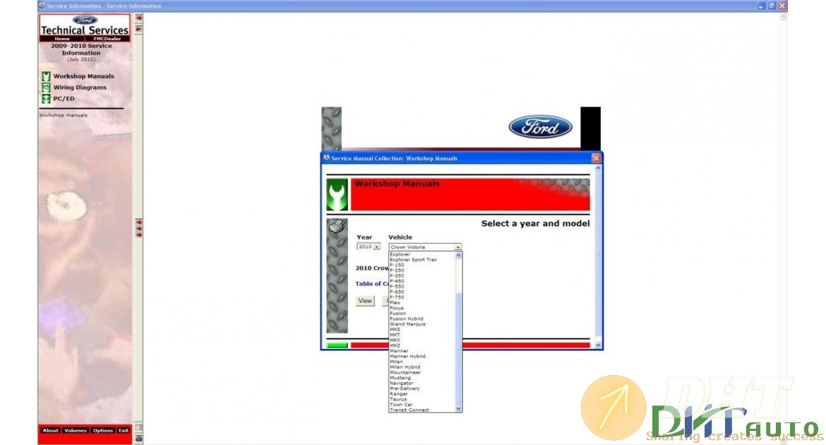 Ford Usa Tis Service Information  2009