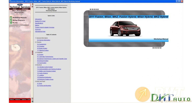 Ford Usa Tis Service Information  2011
