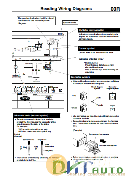 Wiring Diagram  - Ford Escape
