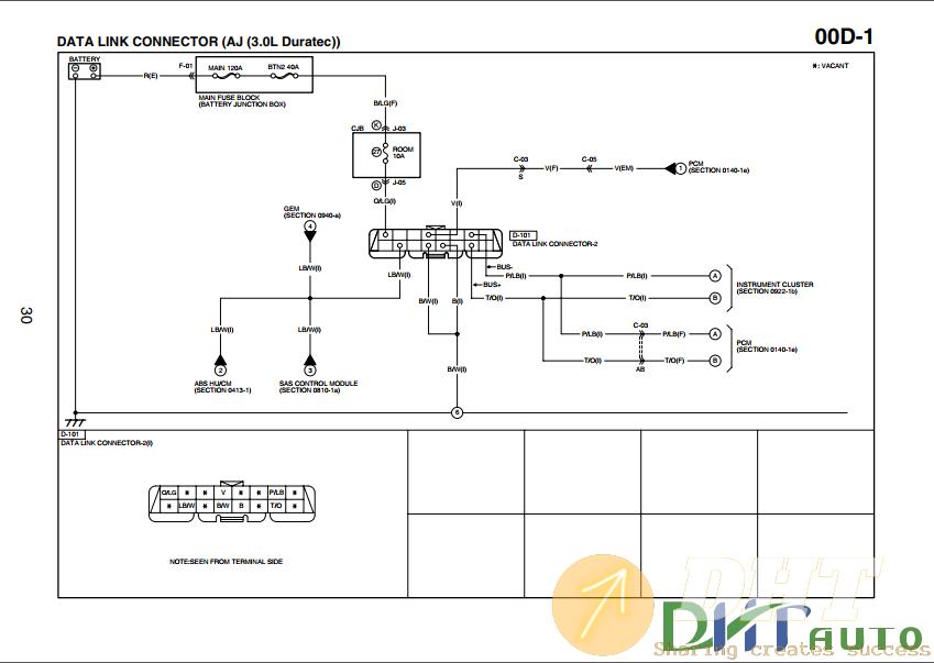 Wiring Diagram  - Ford Escape