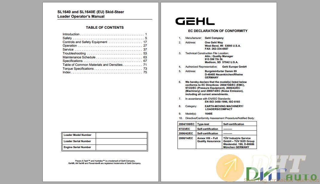 GEHL SL1640E Steer Loader Operator's Manual-.png