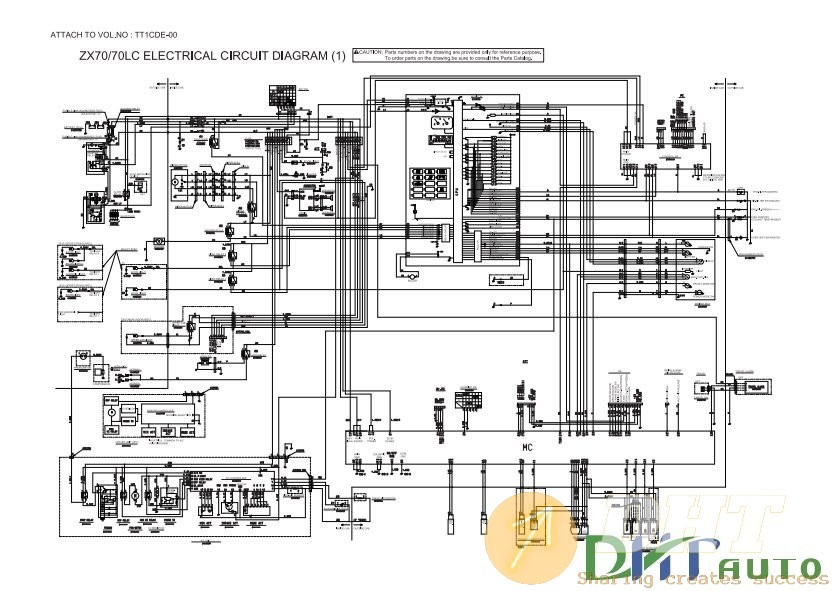Wiring Diagram   70lc Hydraulic Circuit Diagram