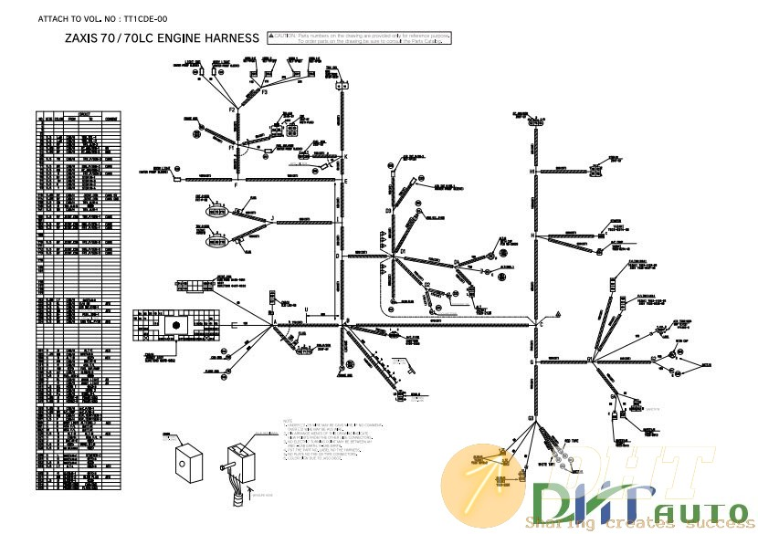 Wiring Diagram   70lc Hydraulic Circuit
