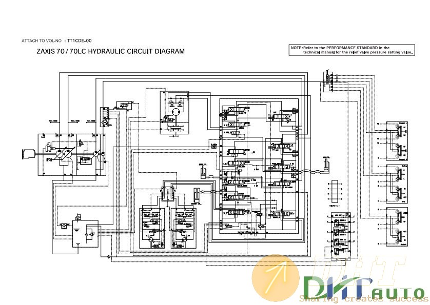 Wiring Diagram   70lc Hydraulic Circuit