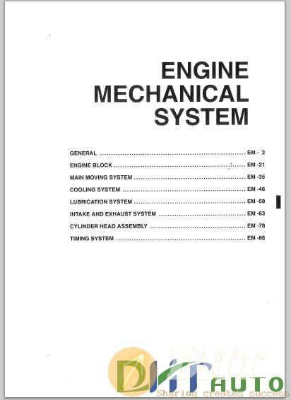 Service Manual - Hyundai    Kia D4ea