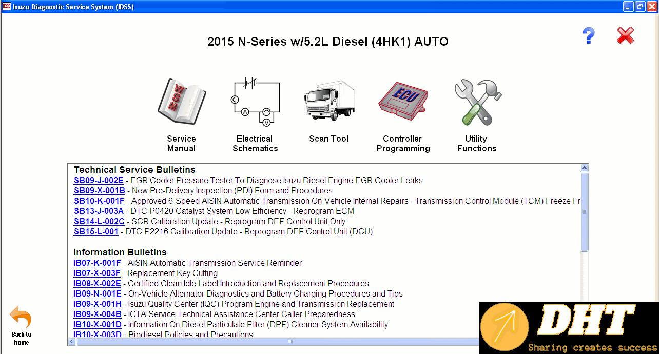 ISUZU DIAGNOSTIC SERVICE SYSTEM IDSS II 2015 -3.png