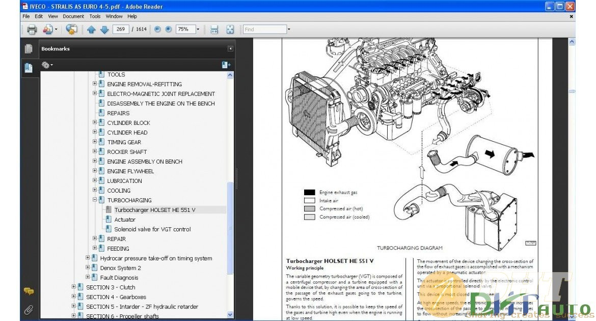 Iveco Stralis As Euro 4  5 Service  U0026 Repair Manual