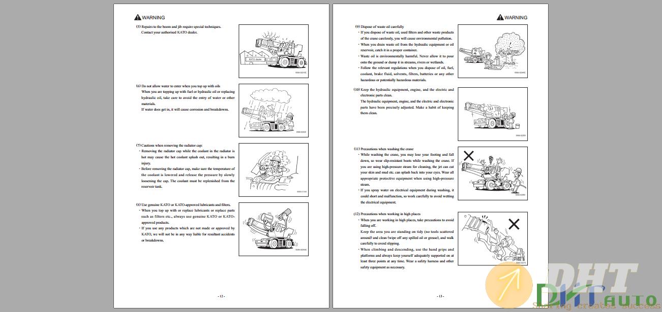Kato Roughter SR700L,SR700LS Service Manual-.png