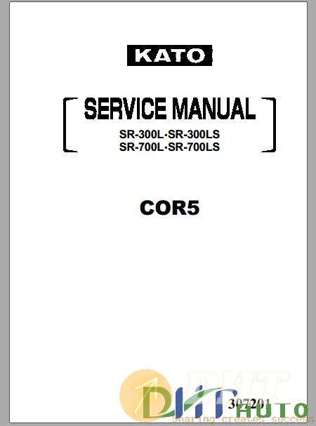 Kato SR300l,SR300LS,SR700L,SR700LS Service Manual.png