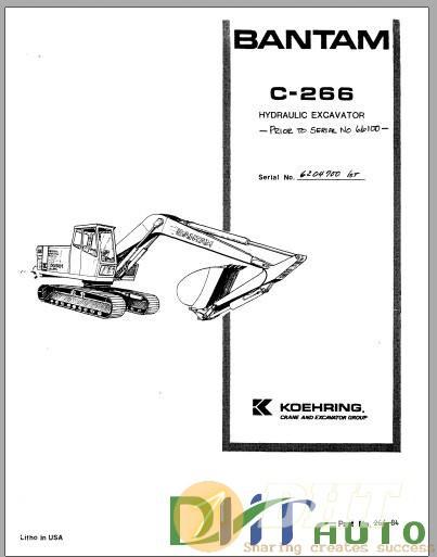Koehring-Bantam_Hydraulic_Excavator_C-266_Parts_Manual-1.jpg
