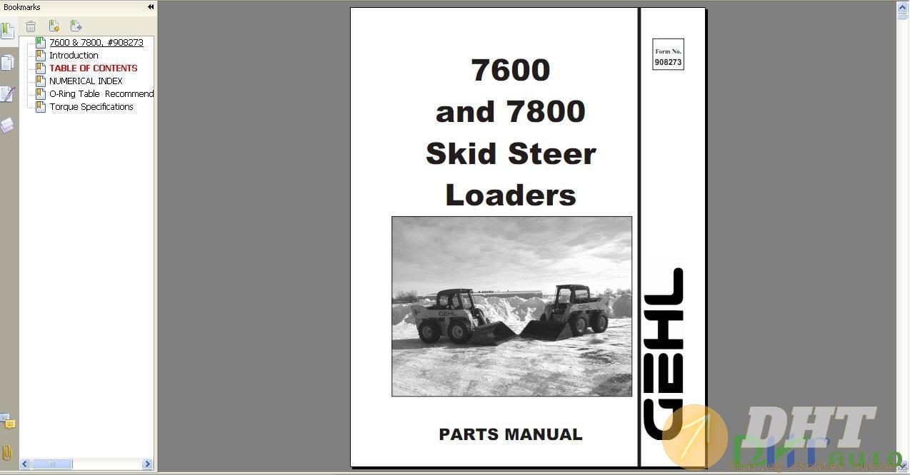 Koehring_4460-4464-4470-4475_Hydraulic_Excavator_Parts_Manual.jpg
