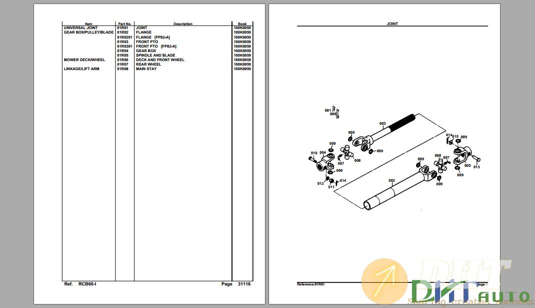 Kubota RCB60-1 Mower Deck Parts Manual-.png