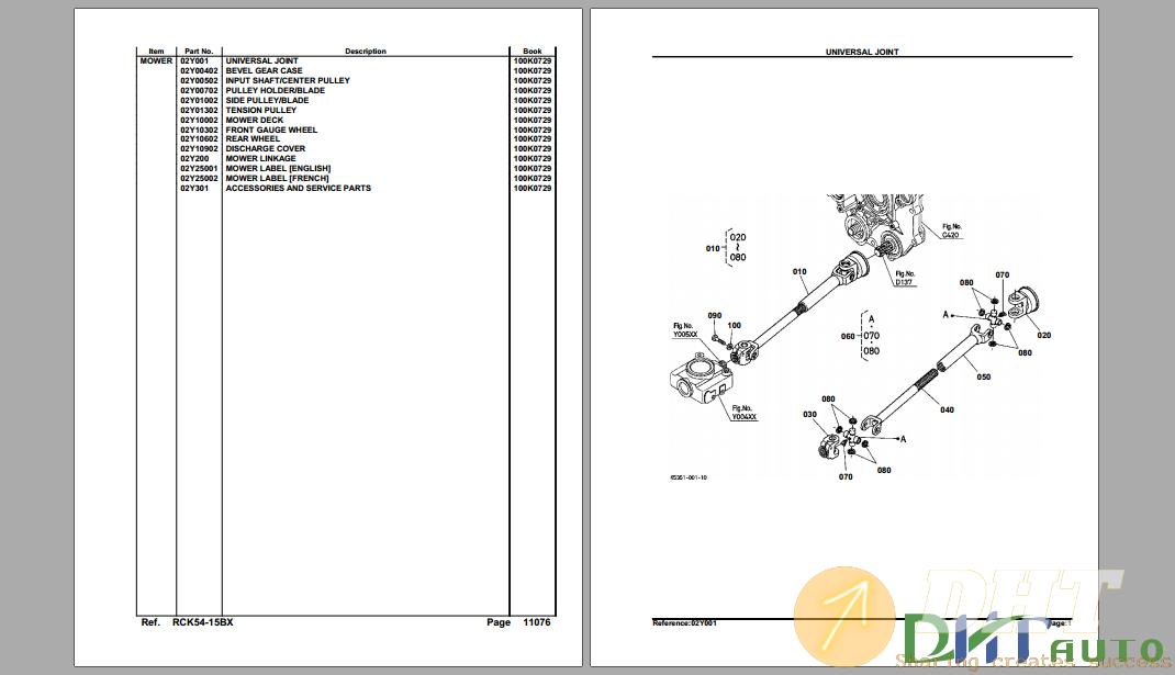 Kubota RCK54-15BX Mower Deck Parts Manual-.png