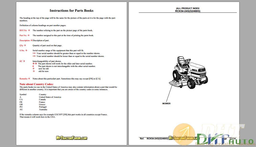 Kubota RCK54-24G ( G2460G) Mower Deck Parts Manual.png