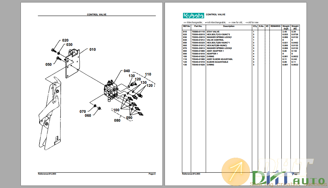 Kubota TL420A Hydraulic Loader Parts Manual-1.png
