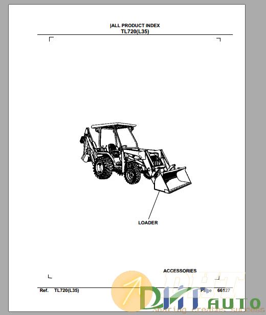 Kubota TL720A(L35) Hydraulic Loader Parts Manual.png