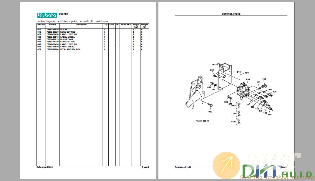 Kubota TL720A(L35) Hydraulic Loader Parts Manual-.png
