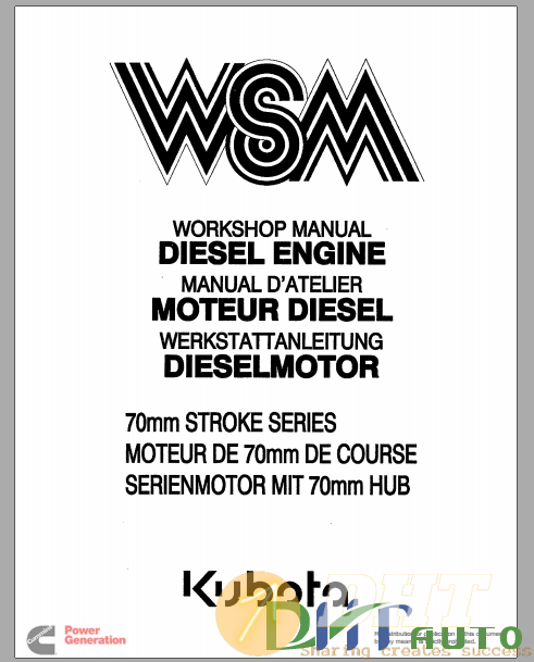 Kubota VSM Engine 700mm Stroke Series Workshop Manual.png
