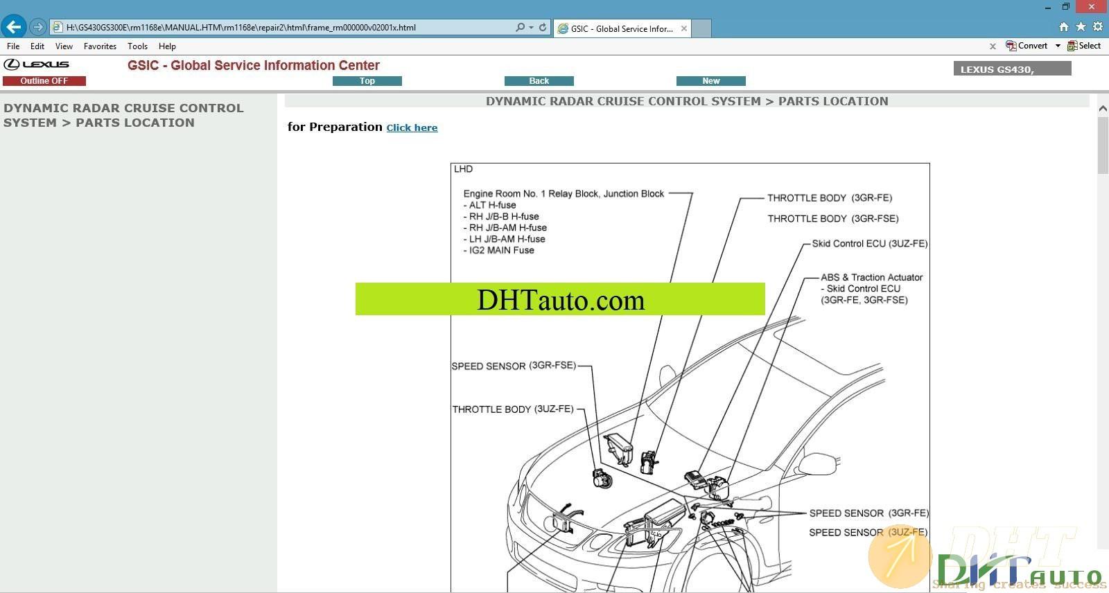 Lexus Gisc Workshop Manual Dvd Full  2003