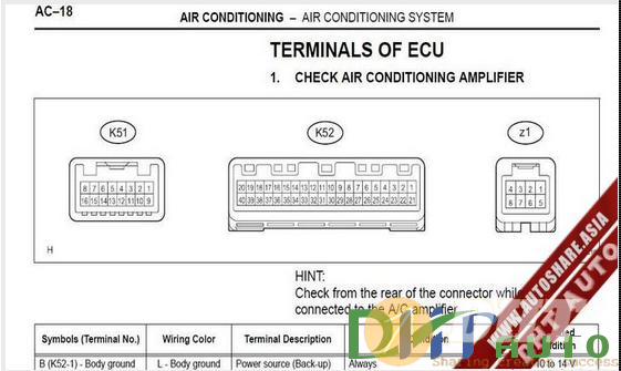 Wiring Diagram - Lexus GS430 350 2007 Wiring Diagram ...