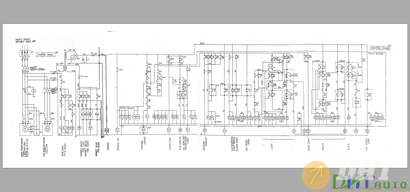 Wiring       Diagram      Mitsubishi Electric  30t  Japanese Crane    Wiring       Diagram      Automotive   Heavy