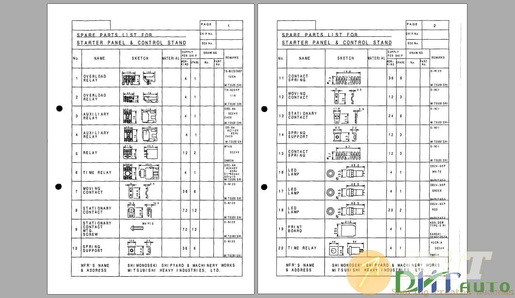 Mitsubishi Hydraulic Deck Crane (25 ton) Maintenance Manual-1.png