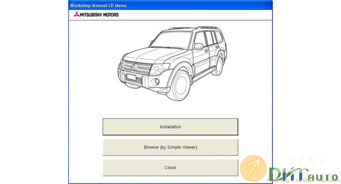 Mitsubishi Pajero Iv Workshop Manual  2006   2015