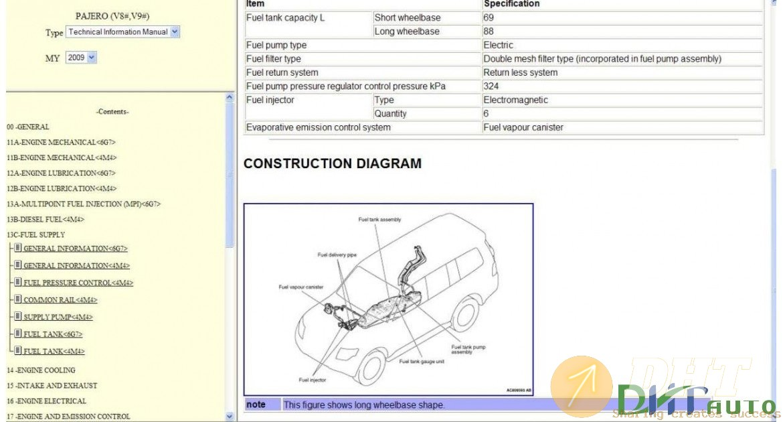 Mitsubishi Pajero Iv Workshop
