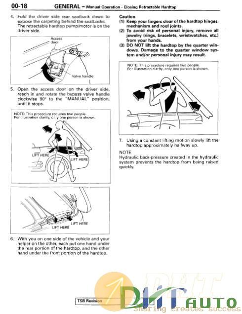 Diagram  1996 2003 Mitsubishi Carisma Service Repair