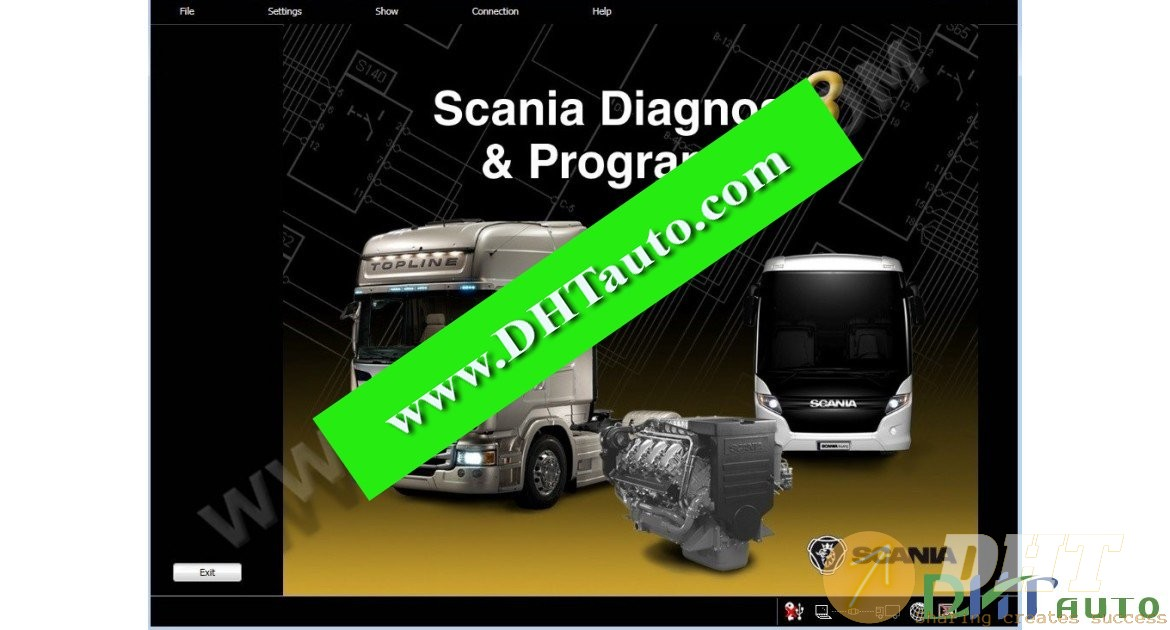 Scania SDP3 2.27 Diagnose And Programmer Full [09.2016]