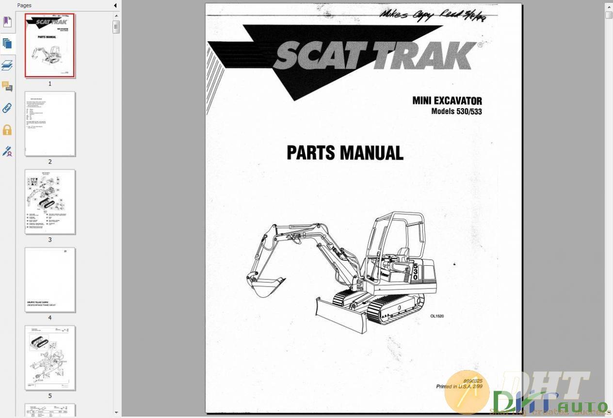 Scat_Trak_Mini_Excavator_Models_530-533_Parts_Manual.jpg