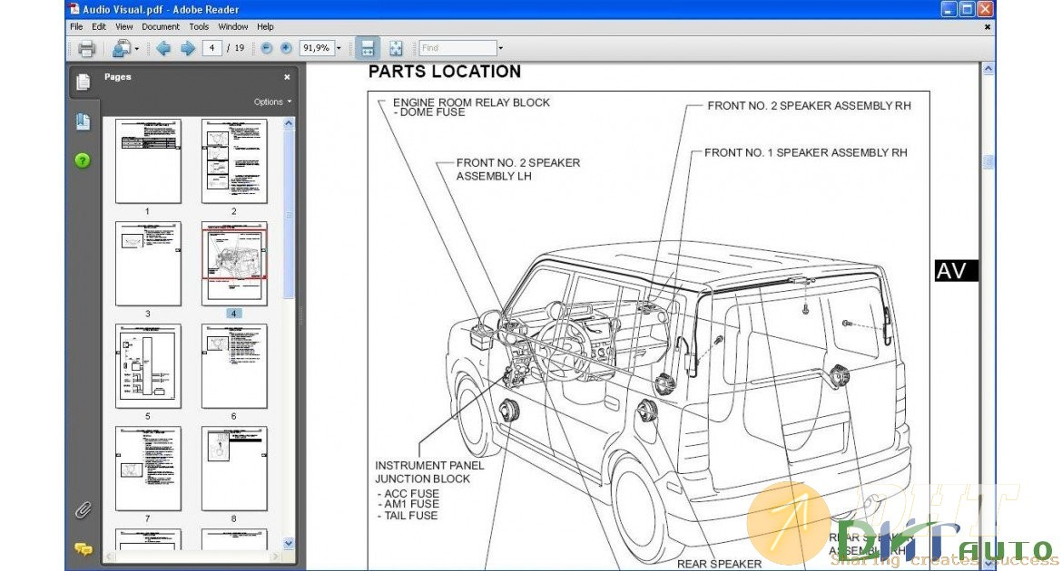 Scion Xb Service Manual  2003