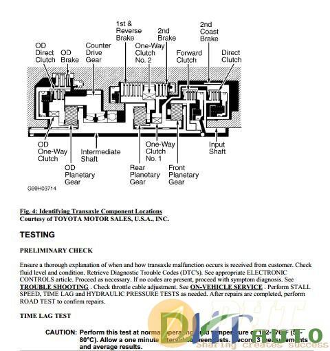 Repair Manual] - Toyota A-540E, A-540H & A-541E Transmission Manual