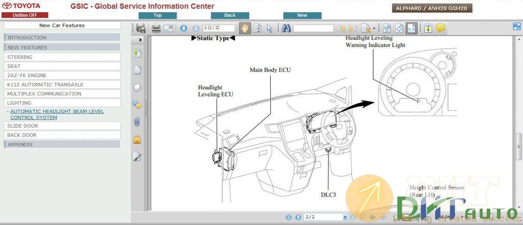 Toyota Alphard ANH20 GGH20 Repair Manual  5.jpg