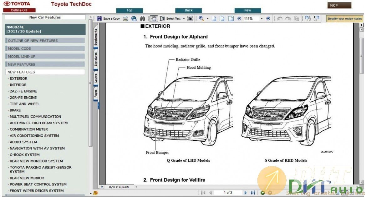 Toyota Alphard    Vellfire Service  U0026 Repair Manual Update