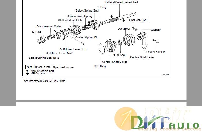 Toyota C50 Automatic Transmission Repair Manual 1.png