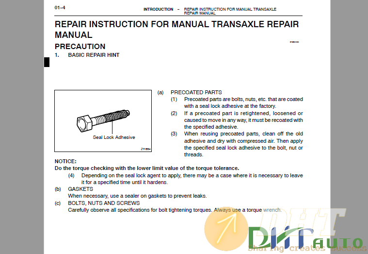 Toyota C50 Automatic Transmission Repair Manual 2.png