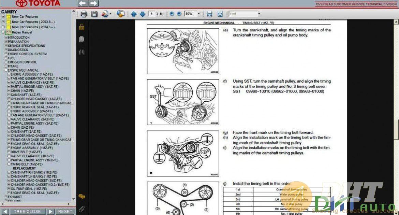 Toyota Camry Service  U0026 Repair Manual Update 2005